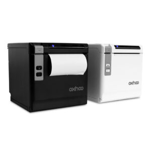 black white oxhoo tp85 pos receipt printer
